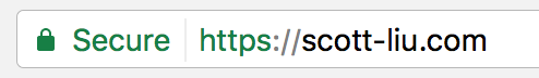 https secured image